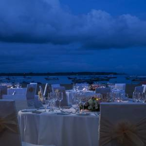 Mantra Sakala Wedding Beach Dinner
