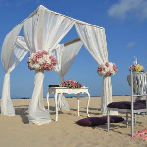 Beach Wedding - Pergola